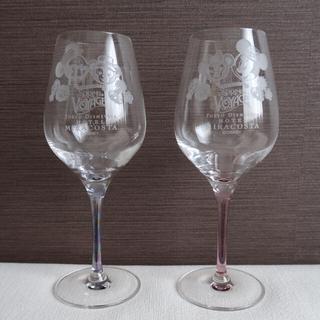 ダッフィー(ダッフィー)の[新品]ミラコスタ ダッフィー  ワイングラス(グラス/カップ)