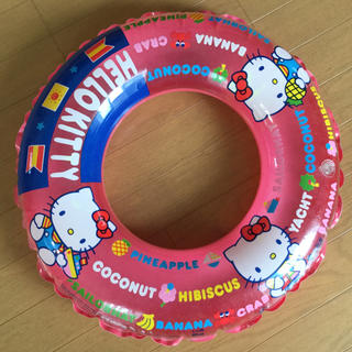 ハローキティ(ハローキティ)のHello Kitty 浮き輪 キティちゃん(その他)