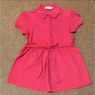モンクレール(MONCLER)のモンクレール チュニックポロシャツ(カットソー(半袖/袖なし))