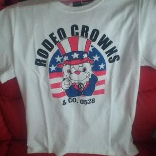 ロデオクラウンズワイドボウル(RODEO CROWNS WIDE BOWL)のロデオ*Tシャツ(Tシャツ(半袖/袖なし))