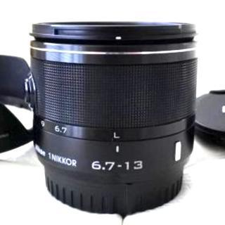 ニコン(Nikon)のニコン Nikon 1 VR 6.7-13mm F3.5-5.6 ブラック(レンズ(ズーム))