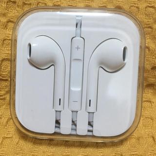 アップル(Apple)のiPhone純正品 イヤホン(ヘッドフォン/イヤフォン)