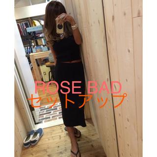 ローズバッド(ROSE BUD)のSALE!ROSE BAD ニットセットアップ 美品(セット/コーデ)