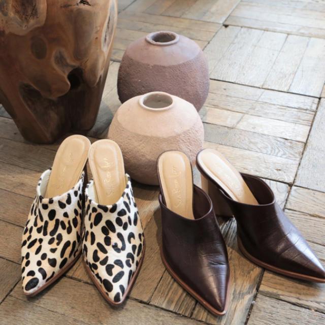 SeaRoomlynn(シールームリン)のSeaRoomlynn  サボミュール レオパード レディースの靴/シューズ(ミュール)の商品写真