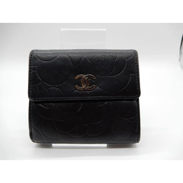 CHANEL - シャネル カメリア Wホックコンパクト財布 シール有の通販 by full-brandy's shop|シャネルならラクマ