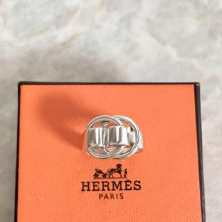 エルメス(Hermes)の正規品 エルメス 指輪 ドゥザノー シルバー SV925 銀 ベルト リング 2(リング(指輪))