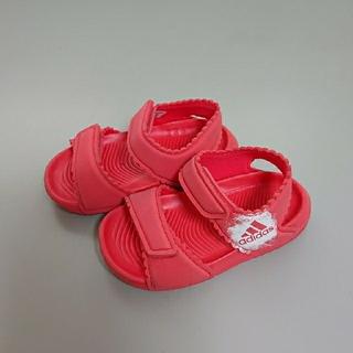 アディダス(adidas)のアディダス キッズ用サンダル ピンク(サンダル)
