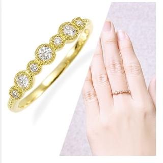 ジュエリーツツミ(JEWELRY TSUTSUMI)のジュエリーツツミ K18 ダイヤモンドリング(リング(指輪))