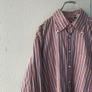 マルチストライプボタンダウンシャツ 90s(シャツ)