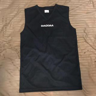 DIADORA - ディアドラ DIADORA タンクトップ ブラック Sサイズ