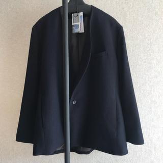 ヨウジヤマモト(Yohji Yamamoto)のka na ta classic jacket タグ有り(ノーカラージャケット)