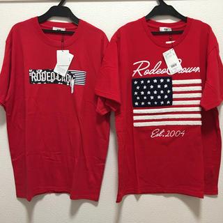 ロデオクラウンズワイドボウル(RODEO CROWNS WIDE BOWL)のロデオクラウンズ Tシャツ メンズ 2枚(Tシャツ/カットソー(半袖/袖なし))