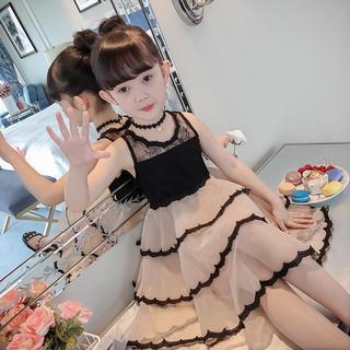 KWBS005可愛い子供、キッズワンピース(100-160) (ワンピース)