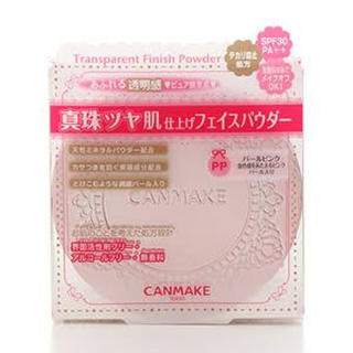 キャンメイク(CANMAKE)のCANMAKE キャンメイク トランスペアレントフィニッシュパウダー pp(フェイスパウダー)
