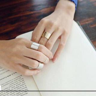 新品 オシャレ リング セット(リング(指輪))