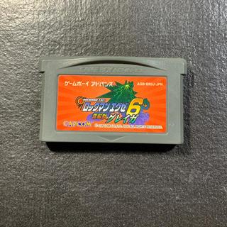 ゲームボーイアドバンス(ゲームボーイアドバンス)のGBA ロックマンエグゼ6 電脳獣グレイガ(携帯用ゲームソフト)