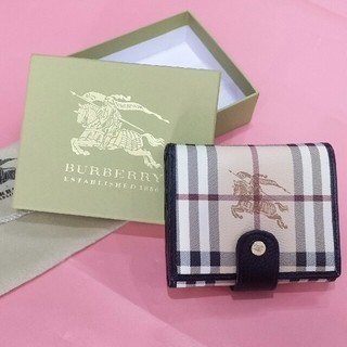 バーバリー(BURBERRY)の超美品BURBERRY バーバリー 三つたたみ 折り財布 メンズ ファッション (折り財布)