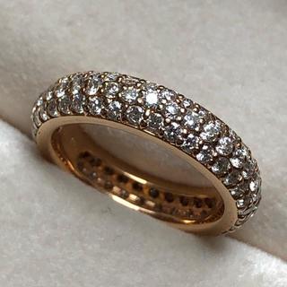 ポンテヴェキオ(PonteVecchio)のポンテヴェッキオ ダイヤモンド フルエタニティリング ピンクゴールド(リング(指輪))