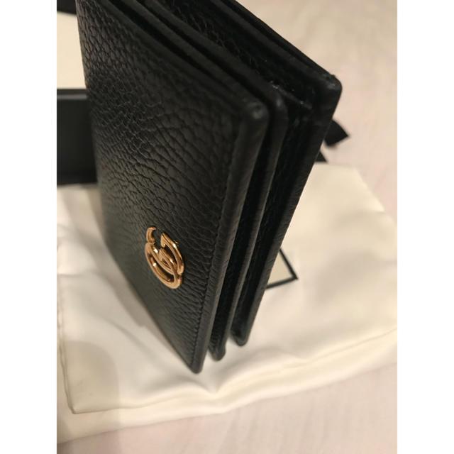 Gucci - 参考写真 GUCCI マーモント コンパクトウォレット 財布の通販 by kyorochan's shop|グッチならラクマ