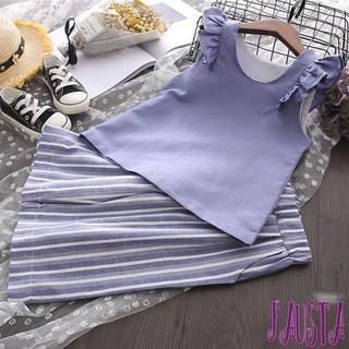 キッズ服 女の子 セットアップ 半袖ブラウス&ガウチョ 120 子供服(ワンピース)