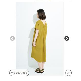 ハコ(haco!)のめいめい様専用 さわやかサックワンピース(ひざ丈ワンピース)