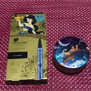 ディズニー(Disney)のアイライナー トゥルーブラック ラブライナー &スチームクリーム 魔法の絨毯(アイライナー)