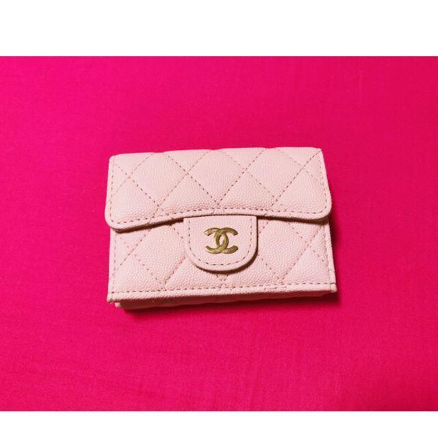 シャネル 財布 本物 偽物ヴィヴィアン - CHANEL - Chanel 大人気のマトラッセ★三つ折りナノウォレットの通販 by 白口 shop|シャネルならラクマ