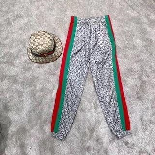 グッチ(Gucci)のGUCCI オーバーサイズ CGナイロン ジョギングパンツ(スラックス)