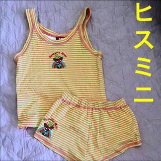 ヒステリックミニ(HYSTERIC MINI)のヒスミニ☆130 レインボーミニちゃん刺繍上下セット(その他)