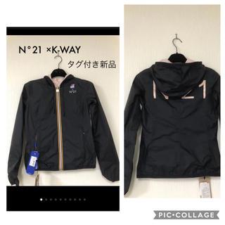 ヌメロヴェントゥーノ(N°21)のN°21 × K-WAY コラボ  リバーシブルジャケット タグ付き新品(ブルゾン)
