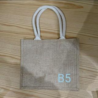 ムジルシリョウヒン(MUJI (無印良品))のジュートマイバッグ 無印 B5(トートバッグ)