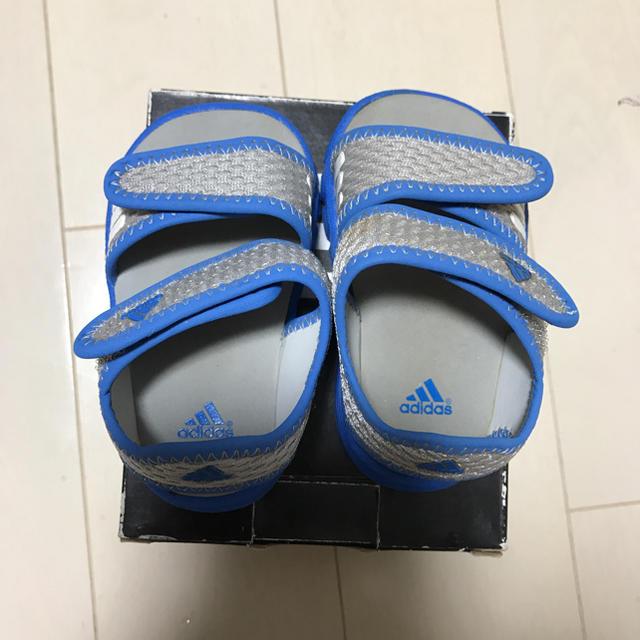 adidas(アディダス)の[美品]アディダス ベビーサンダル11.0cm キッズ/ベビー/マタニティのベビー靴/シューズ(~14cm)(サンダル)の商品写真