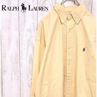 ラルフローレン(Ralph Lauren)の【01-275】ラルフローレン 長袖 ボタンダウンシャツ BDシャツ 刺繍ロゴ(シャツ)