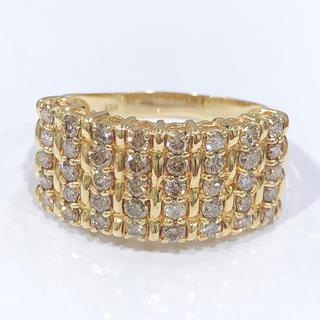 K18 ダイヤモンド リング 1.00ct(リング(指輪))