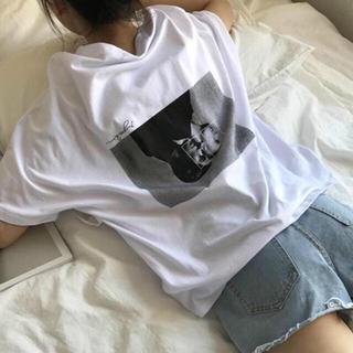 シンプル原宿 韓国系ファッションTシャツ 新品(Tシャツ(半袖/袖なし))