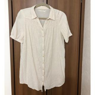 イッカ(ikka)のシャギーシャツ(シャツ/ブラウス(半袖/袖なし))