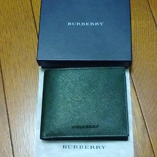 バーバリー(BURBERRY)の新品バーバリー折り財布(折り財布)