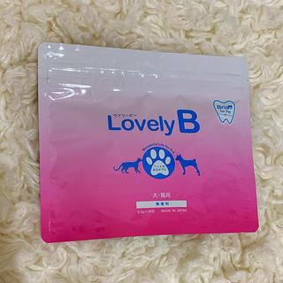 サンスター(SUNSTAR)のLovely B ペット用歯磨き粉(歯ブラシ/歯みがき用品)