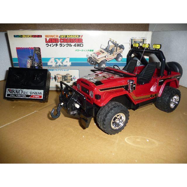 NIKKO(ニッコー)のNIKKO WINCH LAND CRUISER 4WD / 希少 エンタメ/ホビーのおもちゃ/ぬいぐるみ(トイラジコン)の商品写真