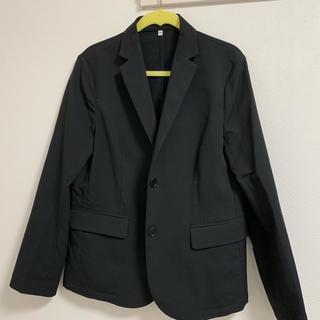 ムジルシリョウヒン(MUJI (無印良品))の無印良品 テーラードジャケット スーツ ブラック(テーラードジャケット)