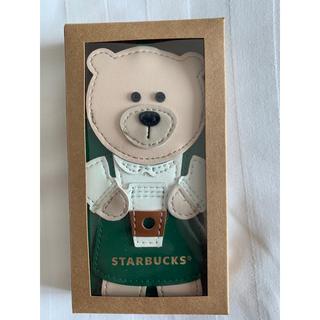 スターバックスコーヒー(Starbucks Coffee)の海外限定/スタバ(スターバックス)ベアリスタ IDカードケース入れ 新品未使用品(パスケース/IDカードホルダー)