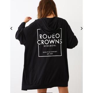 ロデオクラウンズワイドボウル(RODEO CROWNS WIDE BOWL)のロデオクラウンズ SWIM LONG ZIP PK ブラック F(パーカー)
