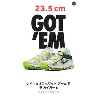 オフホワイト(OFF-WHITE)のOFF-WHITE x NIKE AIR ZOOM TERRA KIGER 5(スニーカー)