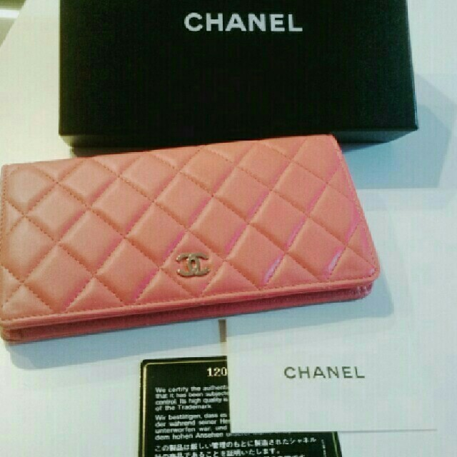 CHANEL - 【新品】CHANEL 長財布の通販 by くるみん's shop|シャネルならラクマ
