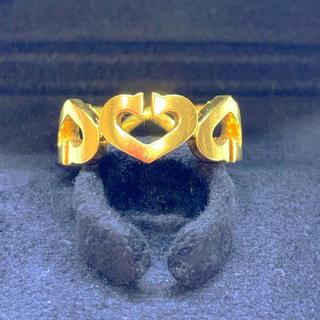 カルティエ(Cartier)のカルティエCハートリング (リング(指輪))
