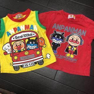 バンダイ(BANDAI)のあんぱんマン サイズ 80 (ティシャツ 、タンクトップ)(Tシャツ)