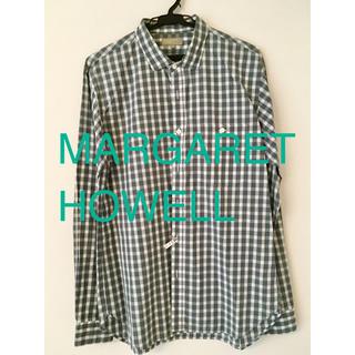 マーガレットハウエル(MARGARET HOWELL)のマーガレットハウエル コットンシャツ  Lサイズ(シャツ)