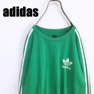 adidas - 90s adidas アディダス ロンT 長袖 Tシャツ グリーン
