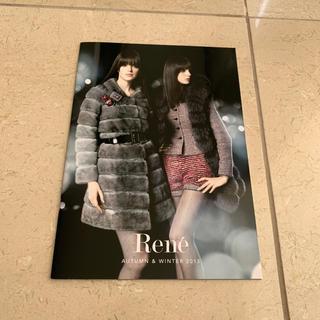 ルネ(René)のRene2013秋冬カタログ(ファッション)