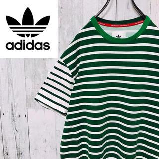 アディダス(adidas)のアディダスオリジナルス☆bedwin マルチ ボーダー Tシャツ コラボ(Tシャツ/カットソー(半袖/袖なし))